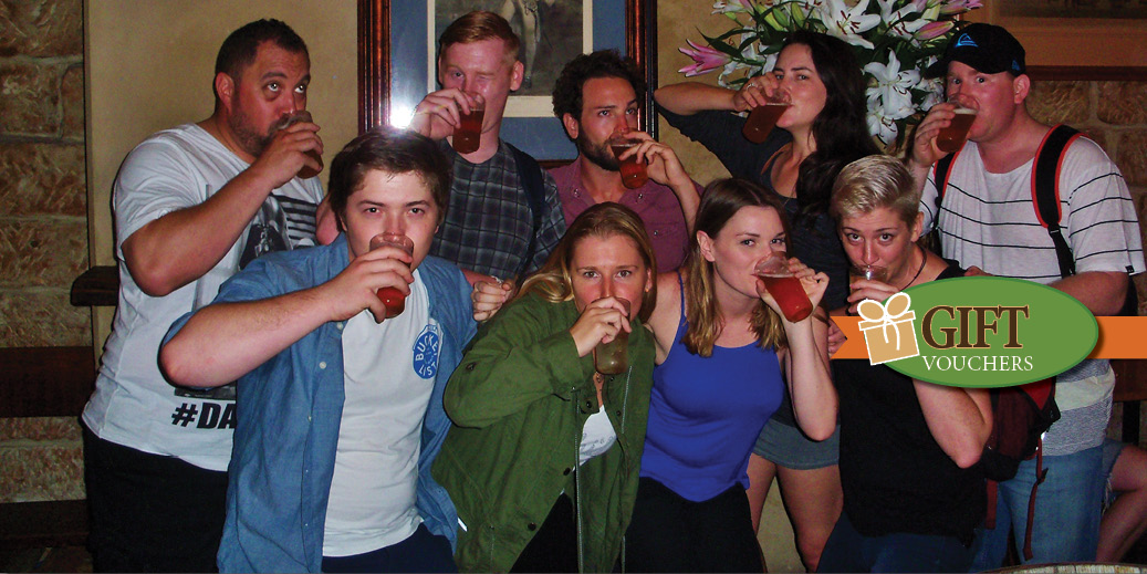 Reward some one for getting a year older by shouting them a Sydney Pub Tours Gift certificate